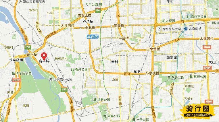 骑车游古镇 北京周边骑行游地图路线攻略(图)