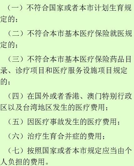 北京生育保险报销标准及政策解答