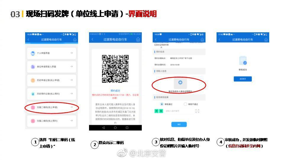 《北京市电动自行车过渡期登记和通行管理办法》内容抢先看