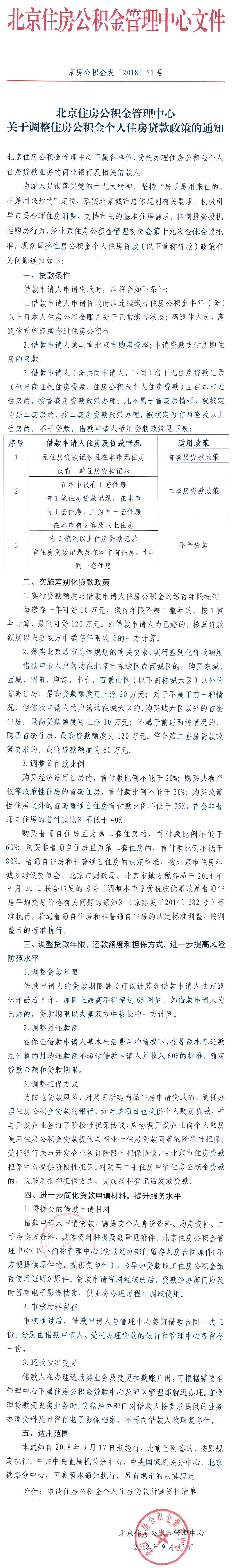 北京住房公积金管理中心关于调整住房公积金个人住房贷款政策的通知.jpg