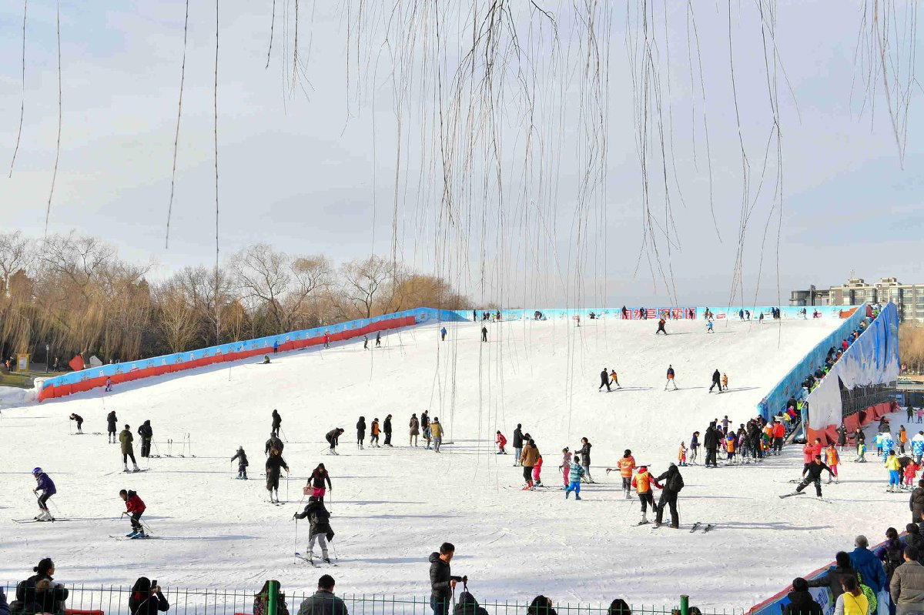 2018-2019陶然亭公园第九届冰雪嘉年华正式开幕