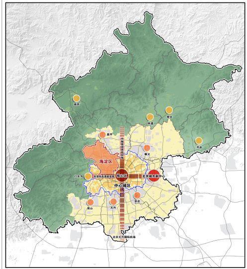 《海淀分区规划(国土空间规划)