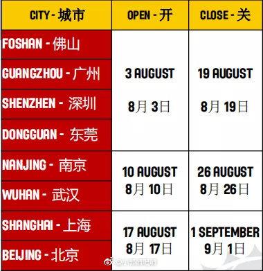 2019篮球世界杯之屋全国开放时间具体地址指南(图解)