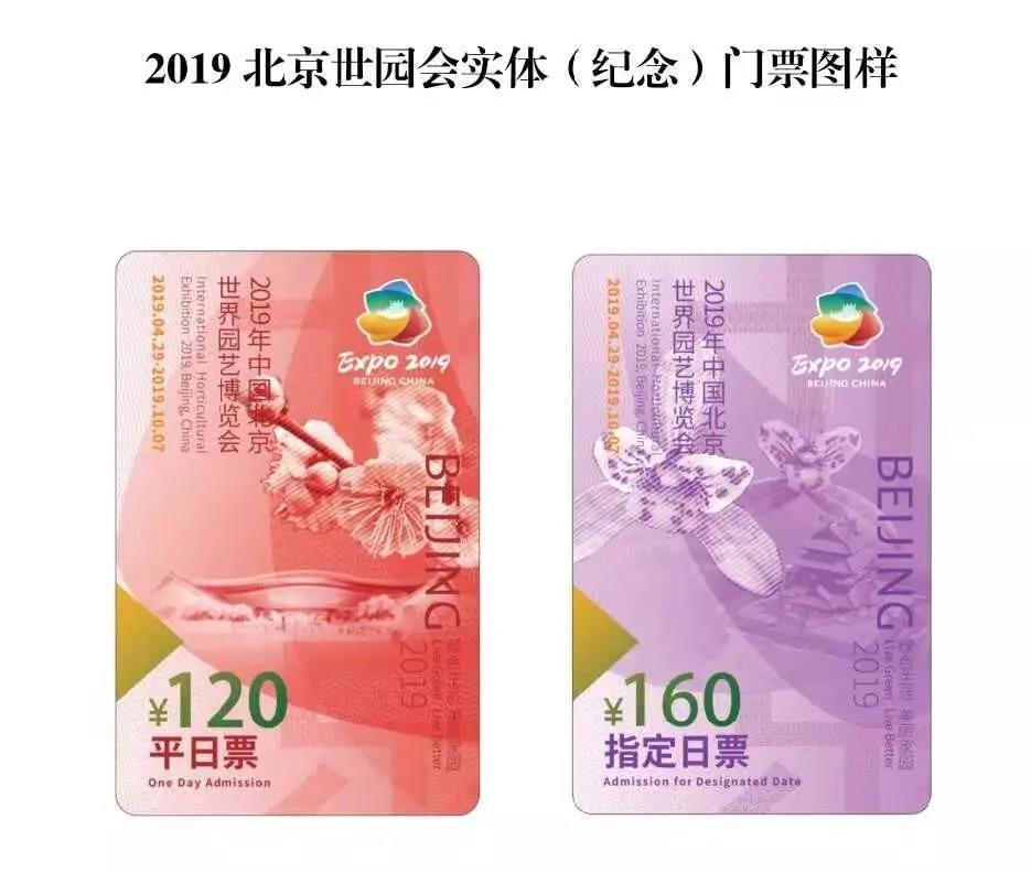 2019世园会北京银行实体(纪念)门票销售网点地址电话