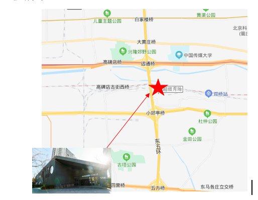 2020年北京朝阳区瑞晖嘉苑共有房选房场地位置示意图及温馨提示