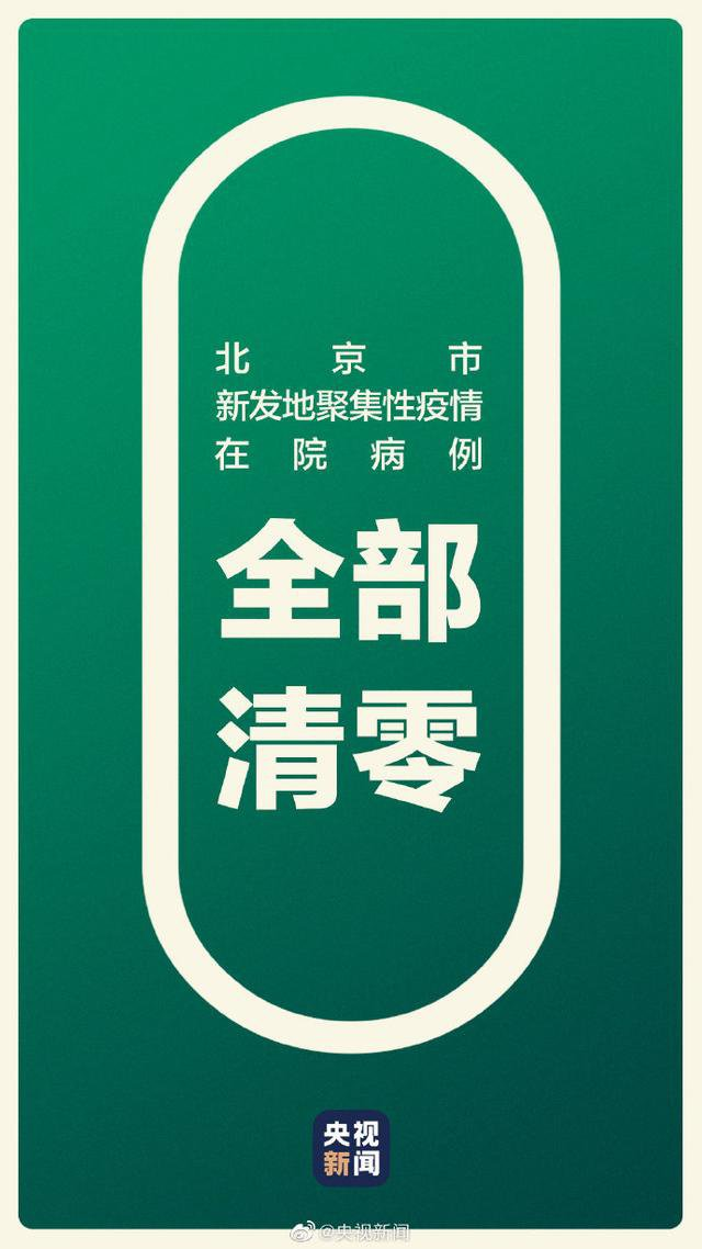 8月6日北京新发地疫情最新消息:病例清零一图回顾北京抗疫时间线