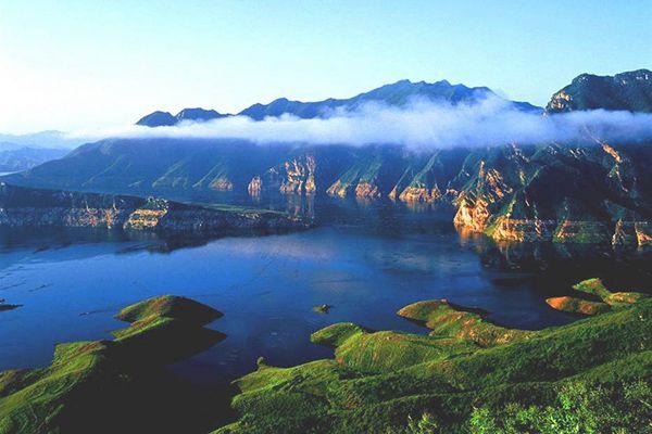 """【燕塞湖风景区】这里蕴尽诗情画意,素有 """"小三峡""""之美称"""