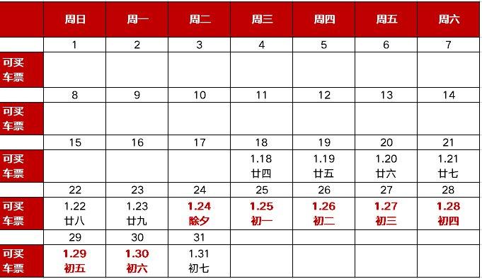 2020北京春运汽车票可以提前多久买?