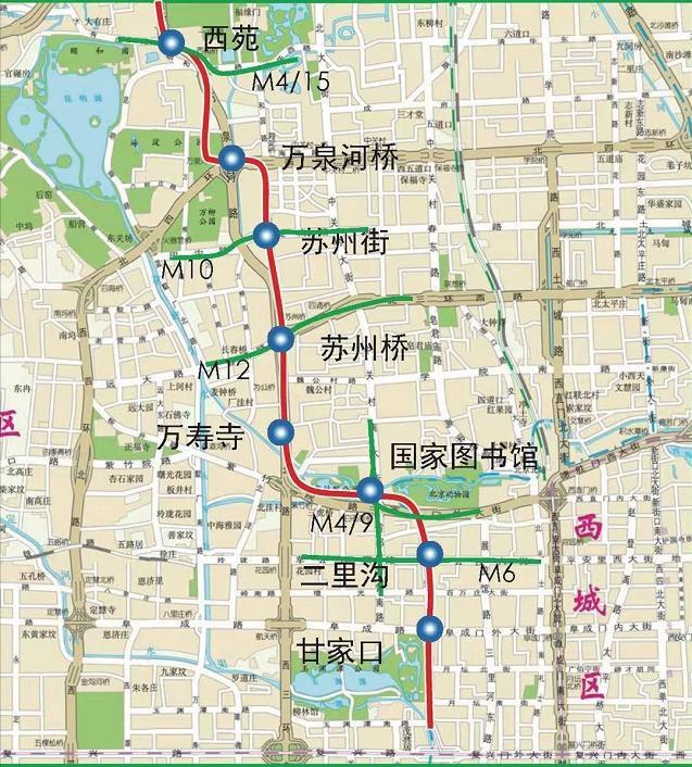 北京地鐵16號線南段什么時候開通?附途徑站點