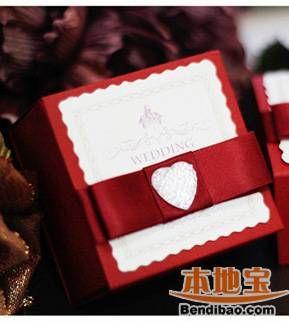 中外不同风格结婚喜糖盒欣赏