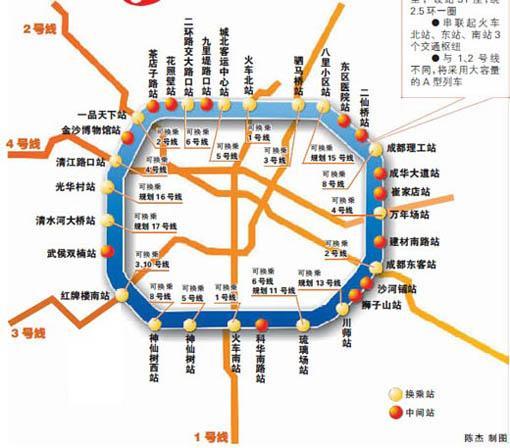 成都地铁7号线图片