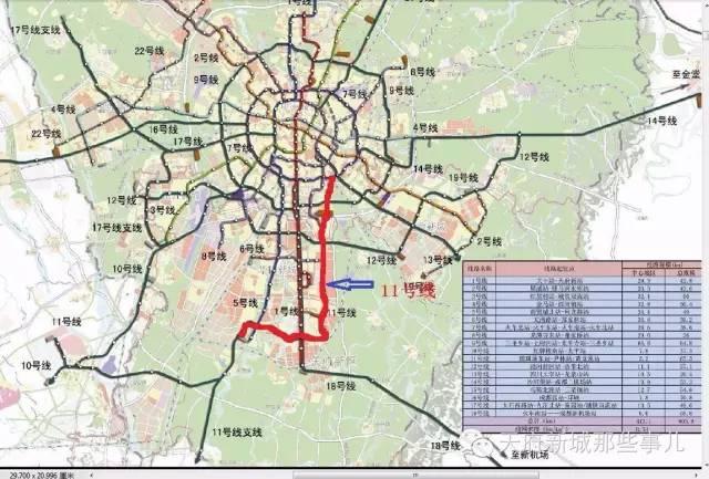 成都地铁11号线经过天府新区哪些地方