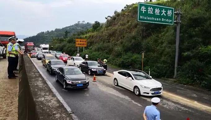 8月7日20时起成自泸高速威远段自贡往成都方向开始放行