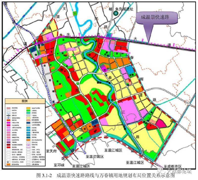 2019年6月成温崇快速路有可能开工 2021年12月通车