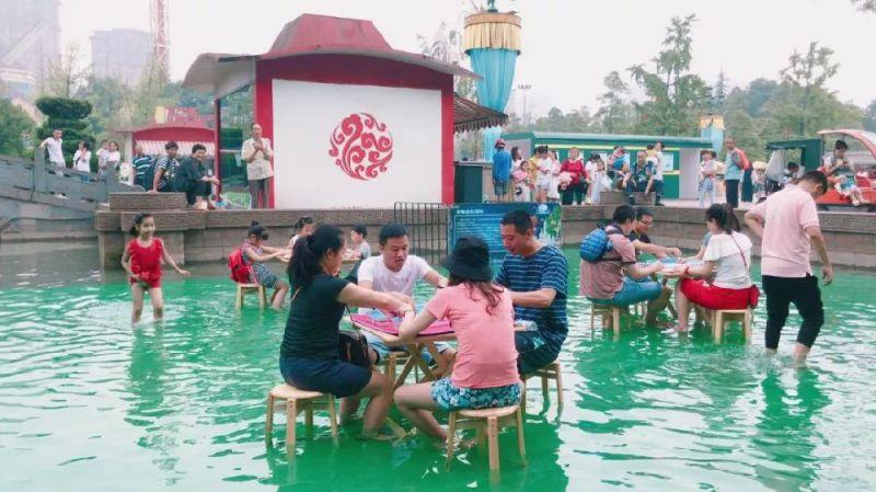 2019暑假成都国色天乡乐园白天有什么好玩的活动?