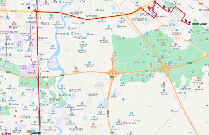 成都定制公交8月23日起即将提档升级(附线路)