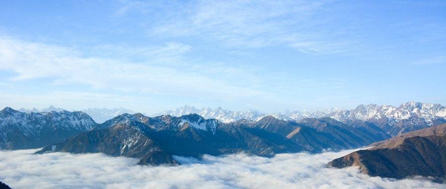 四川冬天有什么山顶观景的好去处?