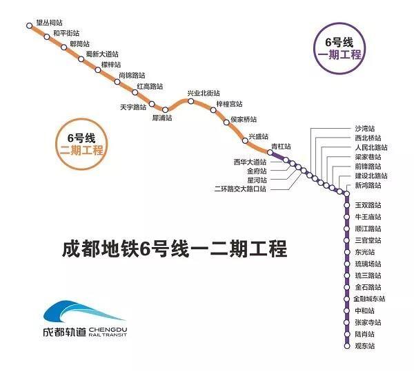 成都13条地铁最新进展及规划大汇总!你最期待哪一条?