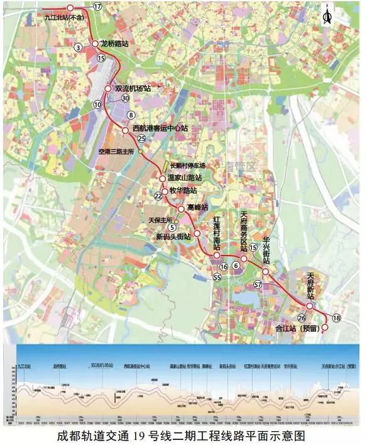 成都地铁2号线线路_成都地铁19号线二期规划图- 成都本地宝