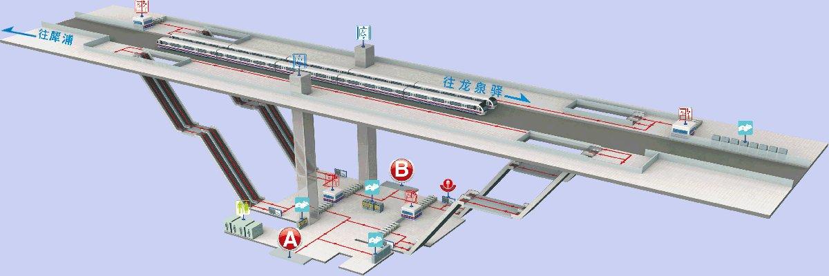 成都市犀浦地铁站(内部设施 周边信息)