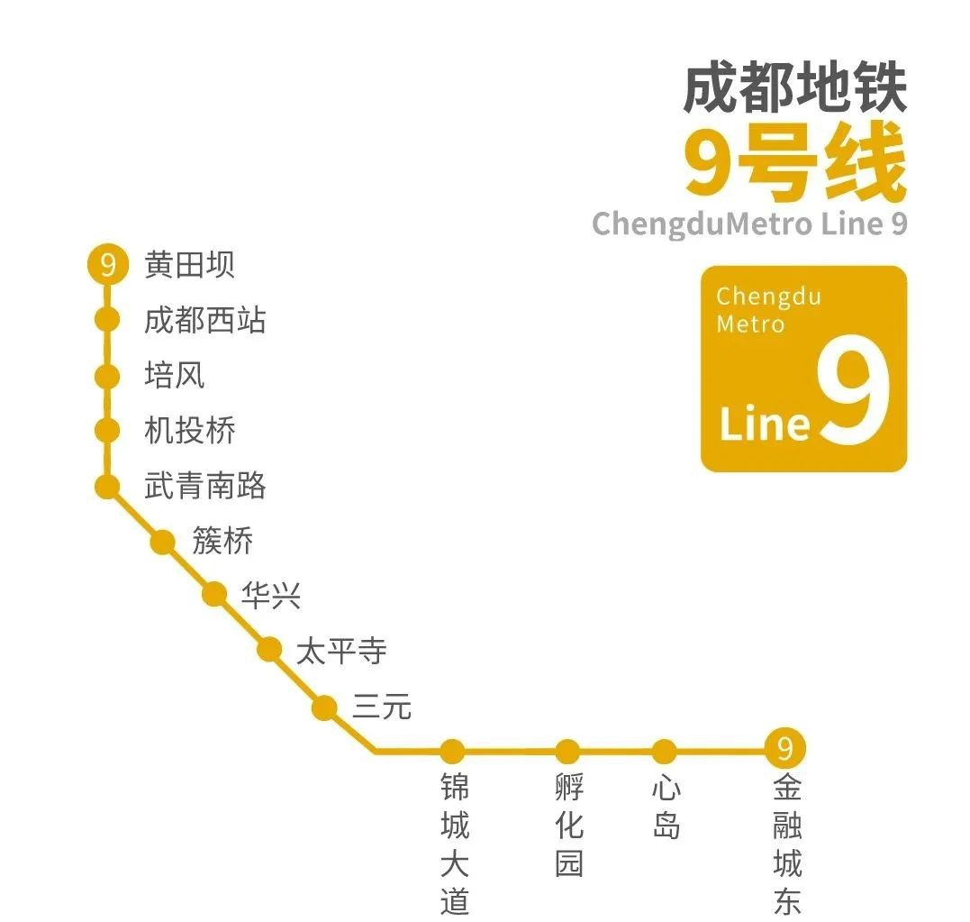 成都地鐵9號線什么時候試運營
