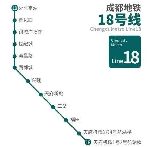 成都地铁18号线开始空载试运行