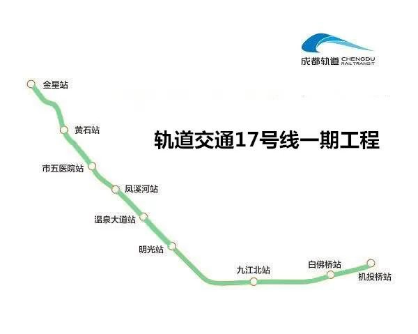 成都地铁17号线完成全线热滑试验