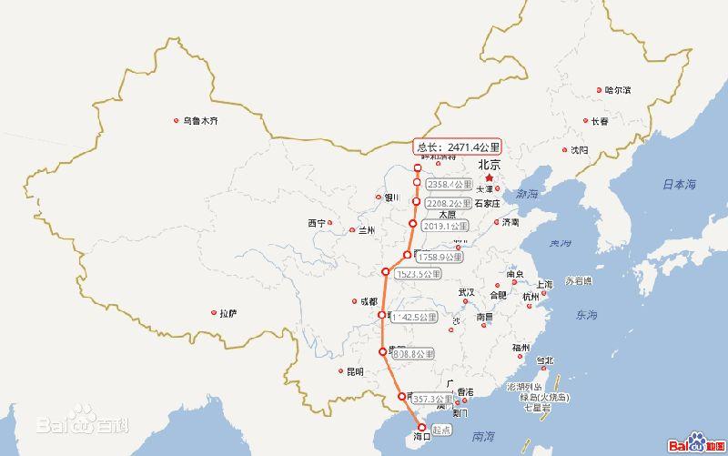 汉巴渝高铁线路图 最新图片