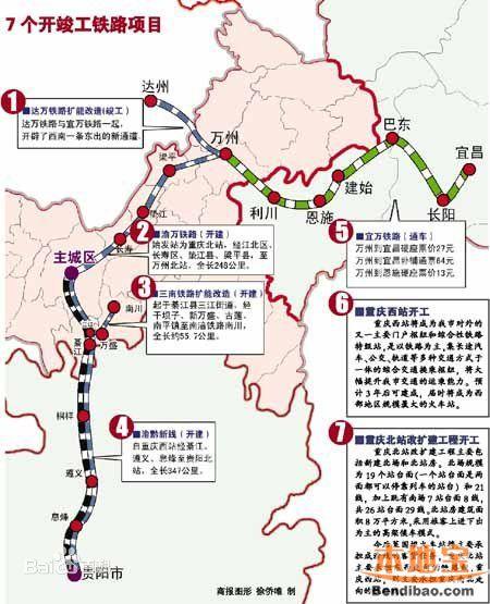 渝广高铁线路图图片