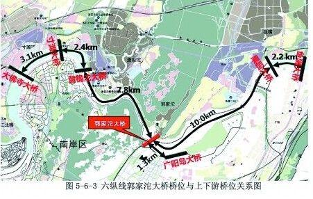 郭家沱长江大桥最新消息 持续更新图片