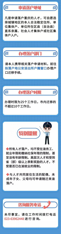 重庆人才落户2020