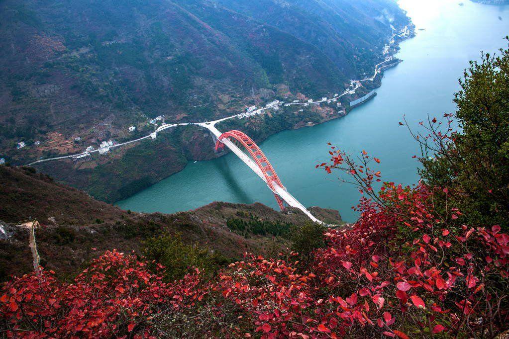 长江三峡看红叶最佳地点和最佳时间