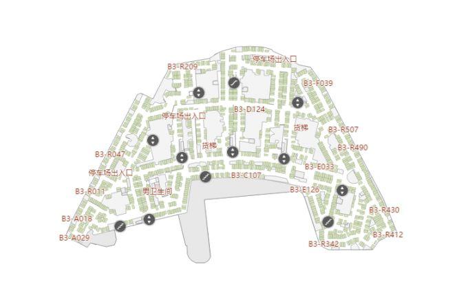 重庆来福士购物中心品牌及楼层分布图