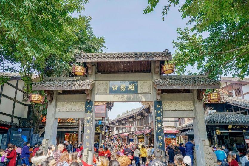 重慶市區一日游必去的地方