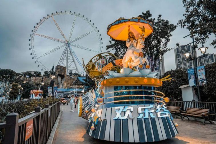 重慶歡樂谷開園時間、地點、門票價格一覽
