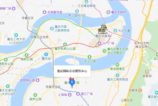 2019重庆西部动漫文化节在哪里(附轻轨 公交路线)