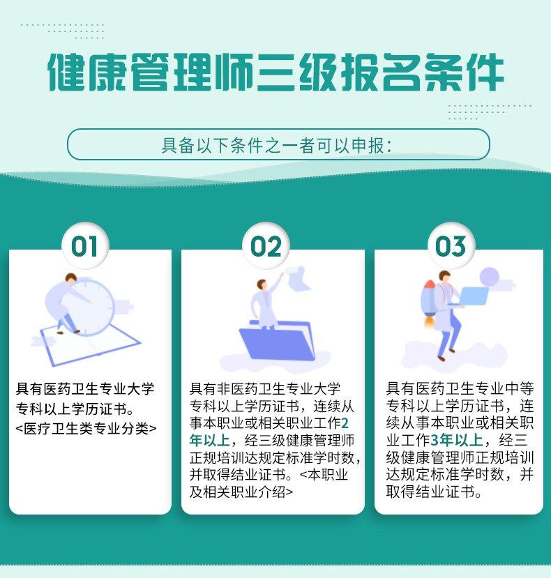 长沙健康管理师报名指南(条件+资料+方式)