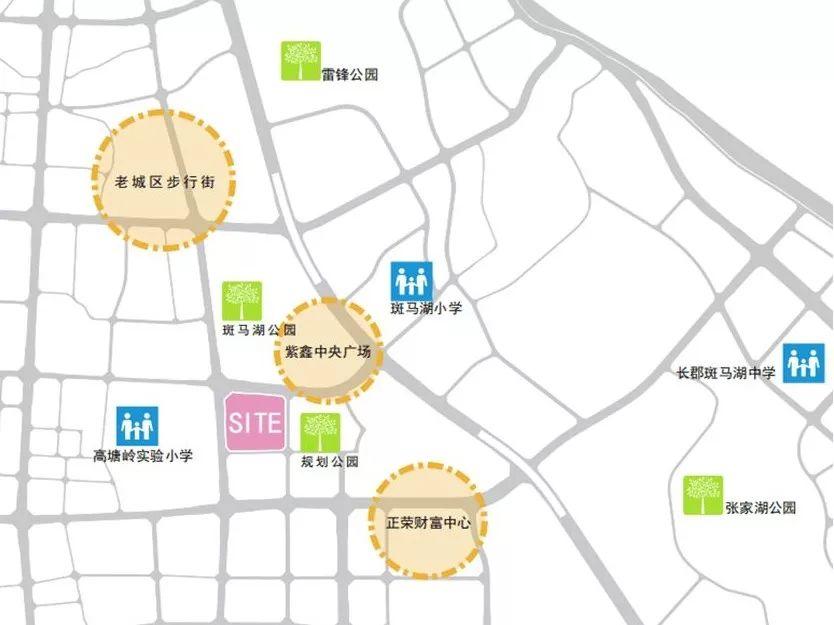长沙斑马湖万达商业广场设计方案