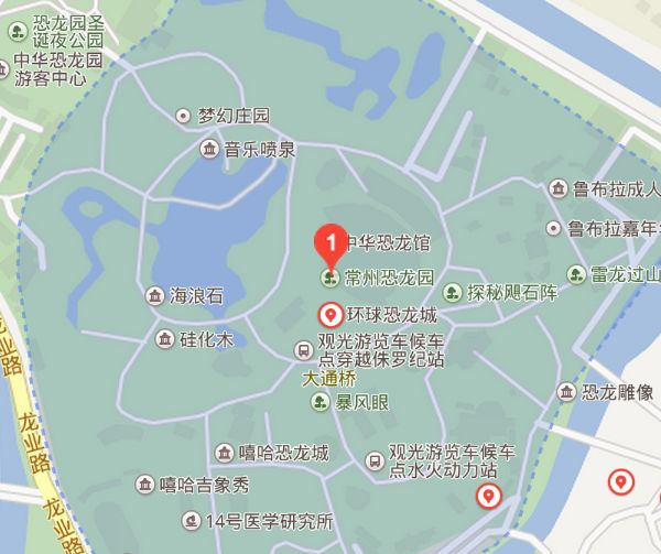 南京到常州中华恐龙园自驾怎么走