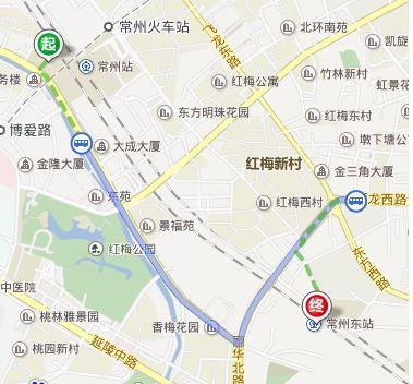 常州汽车站到常州火车站怎么走