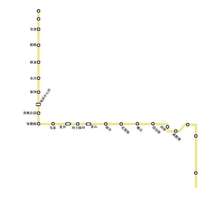 常州地铁4号线规划图
