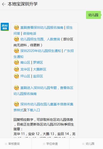 深圳10区幼儿园全盘点(名单、办园等级、咨询电话、收费)