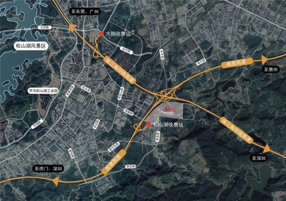 香港城市大学东莞校区选址