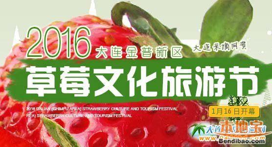 2016大连金普新区草莓文化旅游节