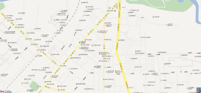 普兰店区丰荣街道地图全图高清版- 大连本地宝