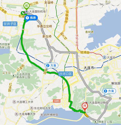 长春路站)乘541路—(森林动物园南门站)下车—步行
