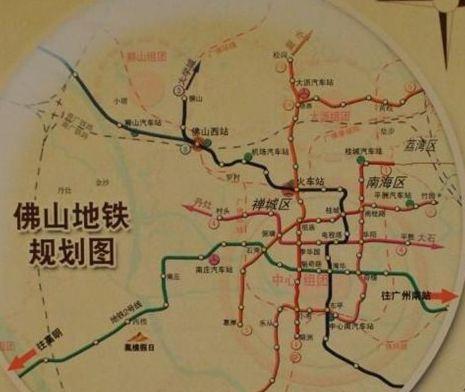 佛山地铁2号线线路图图片