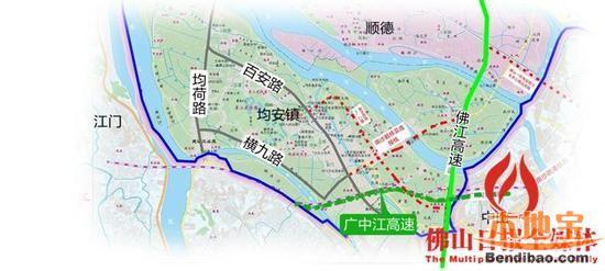 广中江高速公路规划图