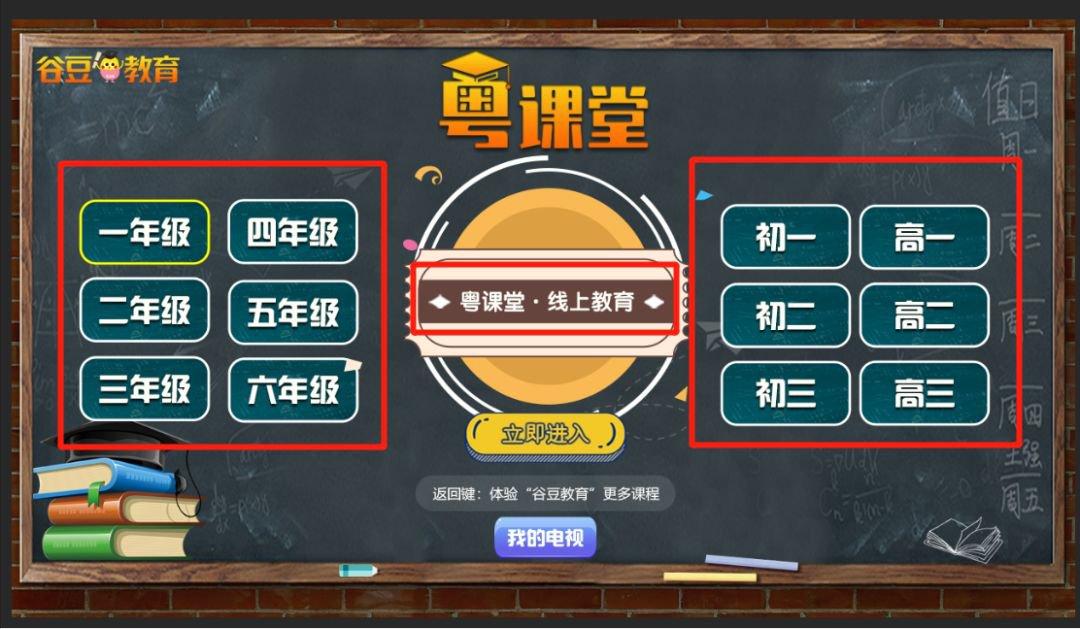 粤课堂有线电视怎么看(频道+年级+流程)