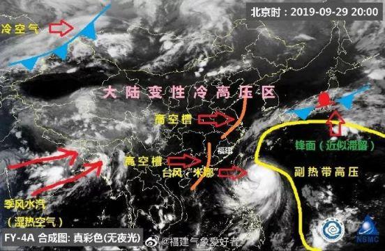 """台风""""米娜""""会影响福州吗?"""